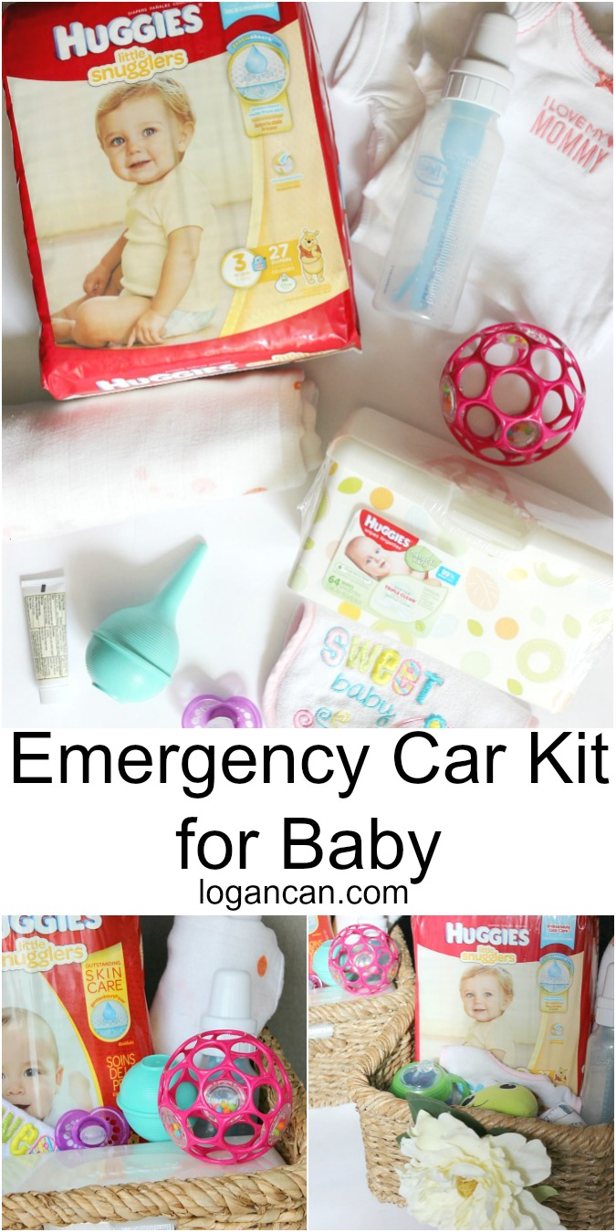 Emergency Car Kit for Baby LoganCan.com