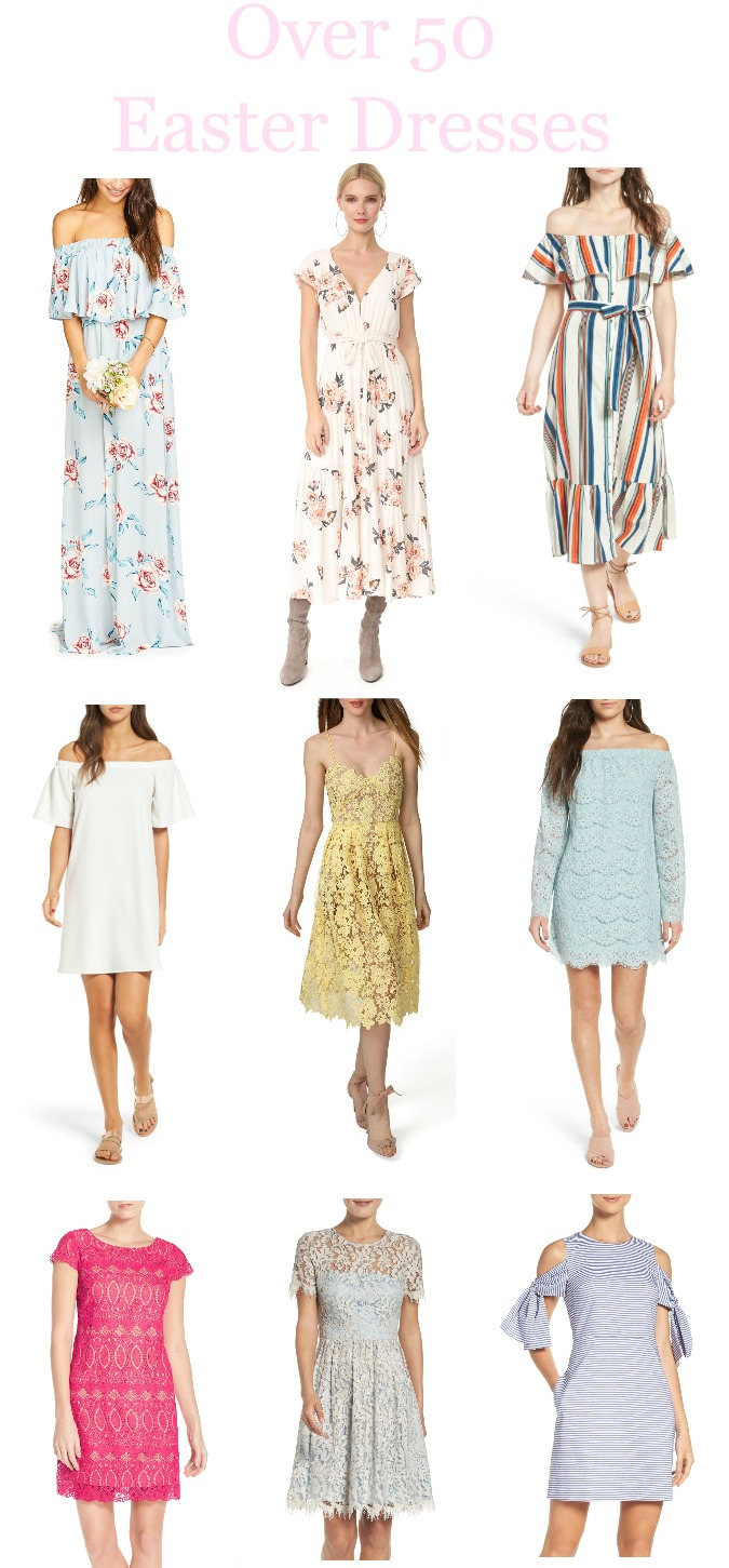 Over 50 Easter Dresses