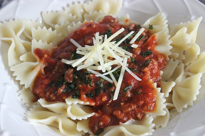 Crock Pot Spaghetti Recipe