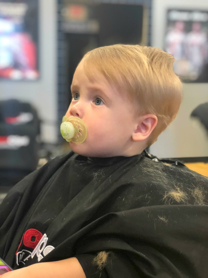Baby's First Haircut